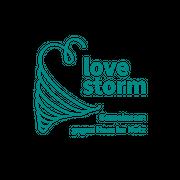 Das Bild zeigt das Logo des Projektes LOVE-Storm
