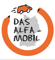 Das Logo des ALFA Mobils