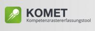 Logo des Kompetenzerfassungstools KOMET