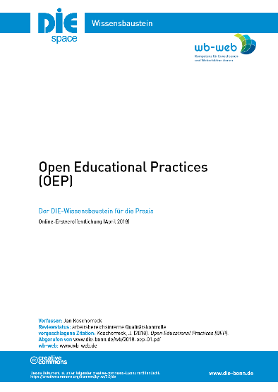 Download Wissensbaustein Open Educational Practises