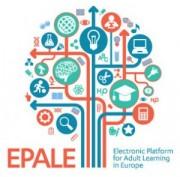 Das Bild zeigt ein Logo von EPALE.