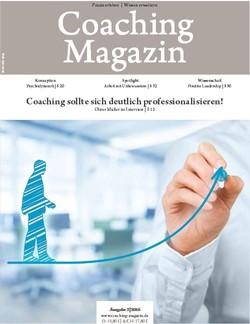 Titelseite des Coaching Magazin