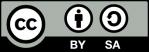 Symbol CC BY SA Lizenz
