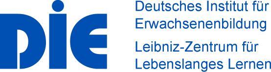 Logo Deutsches Institut für Erwachsenenbildung